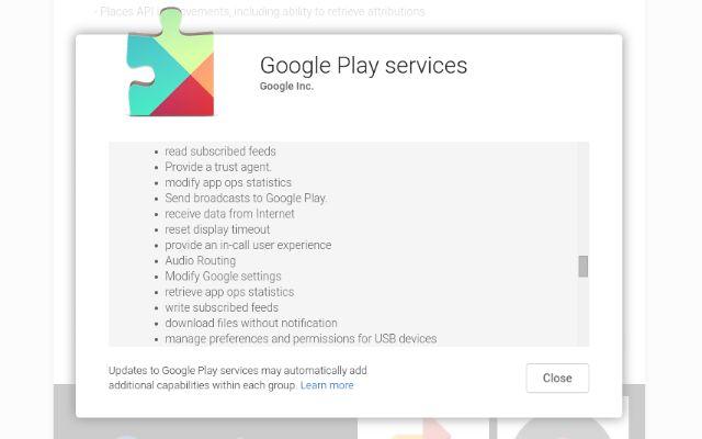 AndroidWithoutGoogle-Play-Serviços-Permission