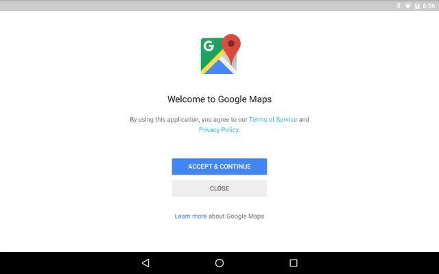 AndroidWithoutGoogle-termos de condições