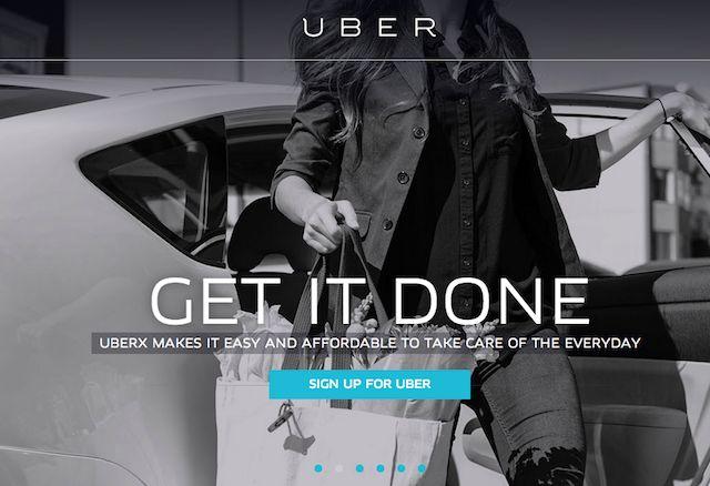 Uber-Shopping