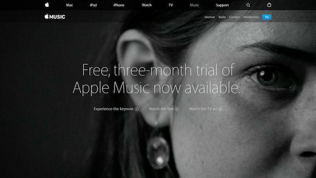 música maçã