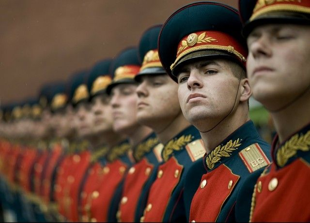 Guarda de Honra na Rússia