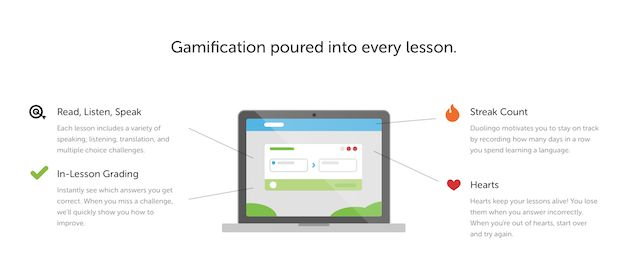 Duolingo-gamification
