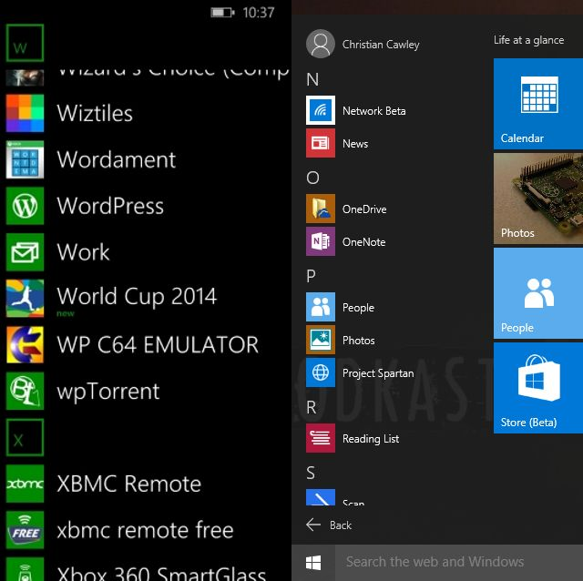 MUO-windows-W10-WP8-apps