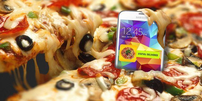 Como encomendar comida com o seu telefone pode arruinar sua saúde