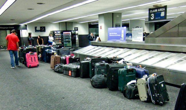 Baggage-reivindicação-PLC