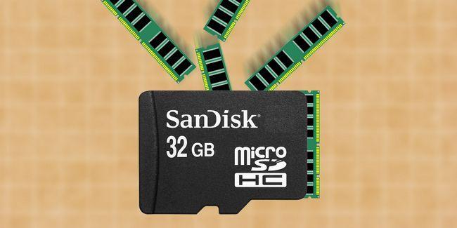 Como adicionar mais memória ram para o seu dispositivo android com um cartão microsd