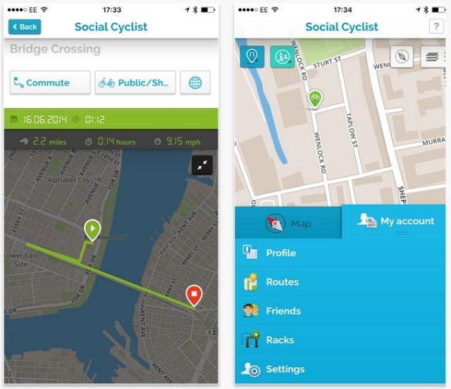 ciclista sociais