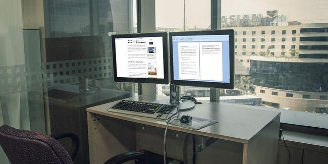 Como ser mais produtivo com dois monitores