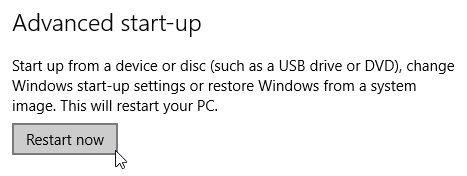 Windows 10 Startup Avançada