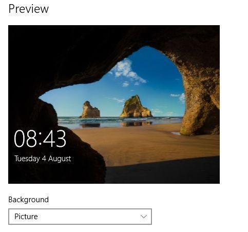 MUO-windows-W10-settings-personalização-lockscreen