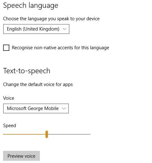 MUO-windows-W10-configurações em tempo-speech