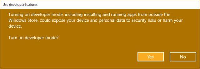 MUO-windows-W10-configurações de privacidade do devfeatures