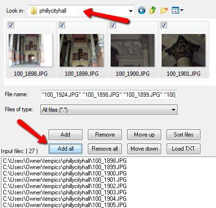 redimensionar imagens em massa