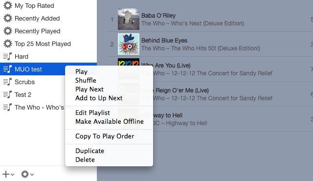 04-iTunes-Playlist-Opções