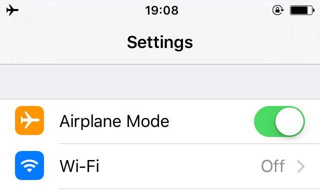 Avião-Mode-iPhone