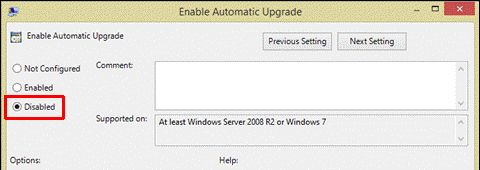 Desativar Escritório de Atualização Automática 2013