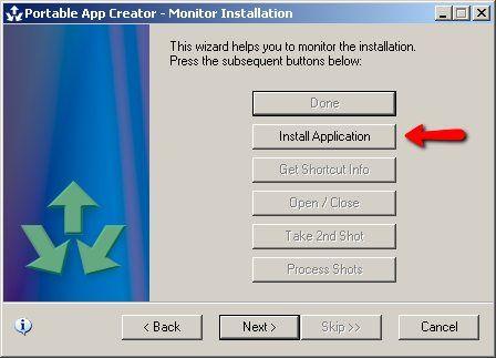 como criar um programa portátil