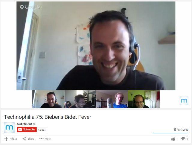 MUO-longform-podcaststarterguide-Google Hangouts do YouTube