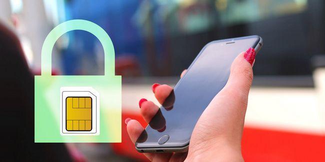 Como criptografar e definir um bloqueio do cartão sim em qualquer dispositivo móvel