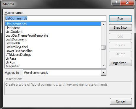 05-Word-List-comandos de Macro