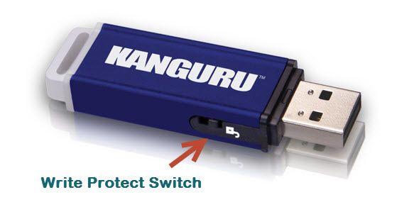 protecção correção write