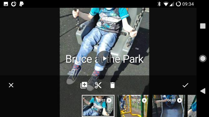 google filme fotos android
