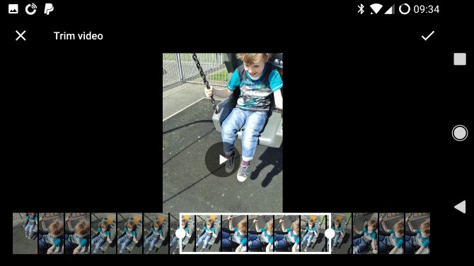 Google Fotos android aparar