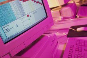 As planilhas são as redes que contêm informações em linhas e colunas.
