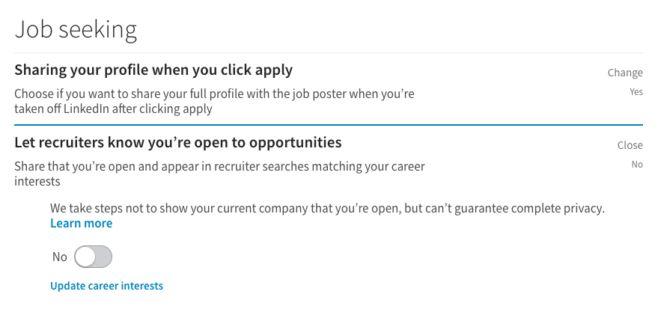 linkedin procura de emprego