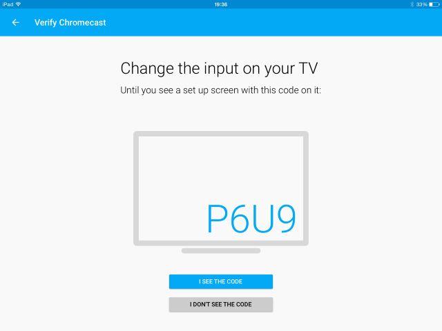 MUO-Chromecast ios-setup