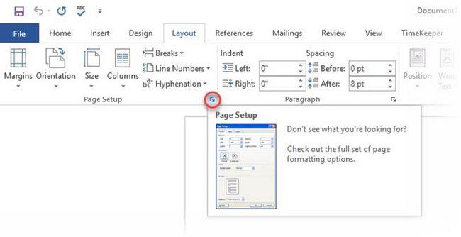 Microsoft Word - Configurar página