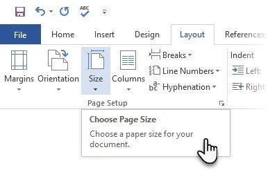 Microsoft Word - Layout - Tamanho