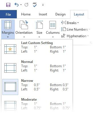 Microsoft Word - Defina as margens