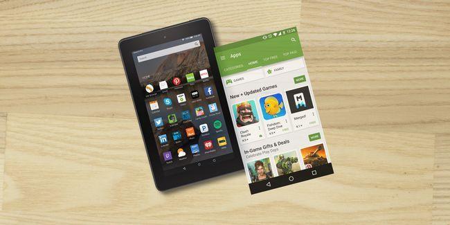 Como fazer o seu amazon tablet fogo parecer estoque android