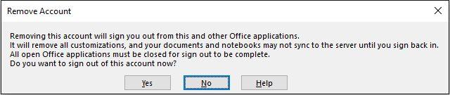 OneNote Sair Conta Microsoft