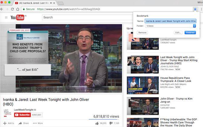 navegadores vídeo Bookmark