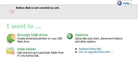 proteger com senha drive USB