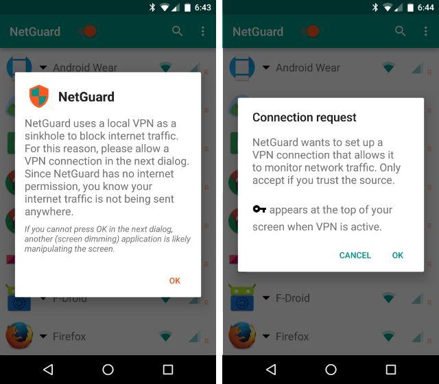 AndroidBlockAppsInternet-NetGuard