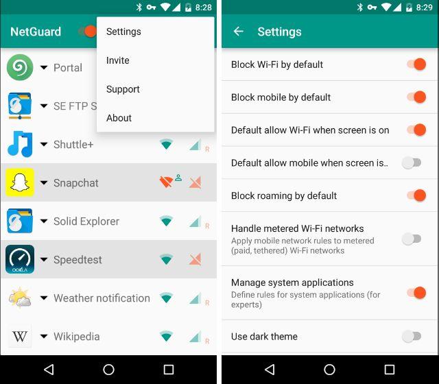 AndroidBlockAppsInternet-Settings