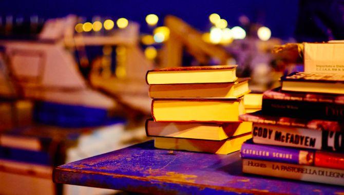 pilha da leitura
