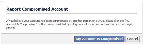 recuperar a senha do facebook