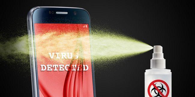 Como remover um vírus de android sem um reset de fábrica