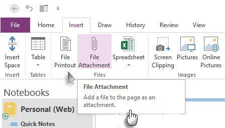 Inserir anexo arquivo ou uma impressão de arquivos