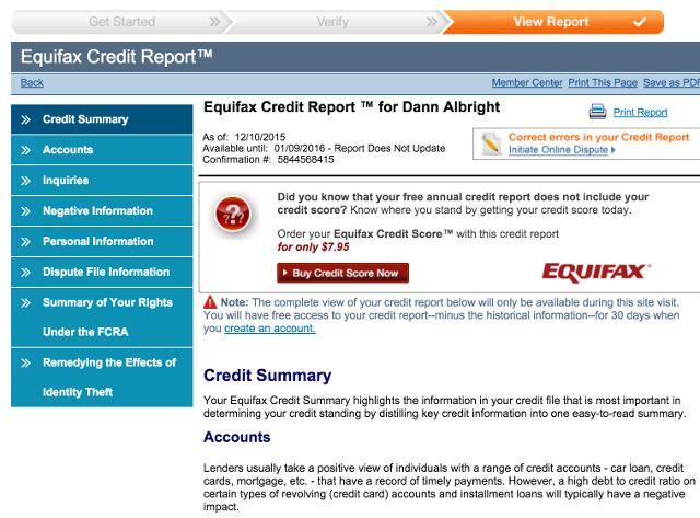 equifax-crédito-relatório