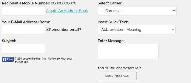 envie-sms-windows-online-mensagem de texto