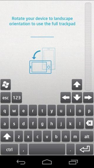 how-to-use-android-phone-tablet-as-rato-teclado-trackpad-para-Windows-Intel-Remote-teclado-setup-retrato