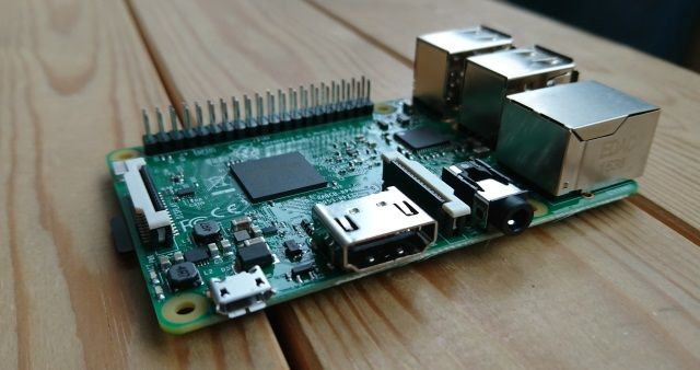 framboesa pi 3 PCB