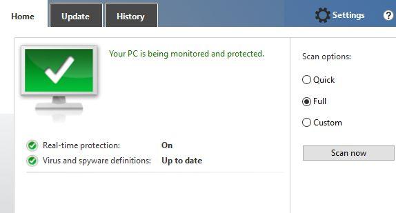 MUO-windows-w10defender-scan