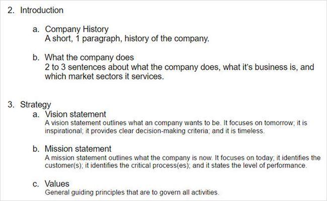 modelo de perfil empresa de negócios