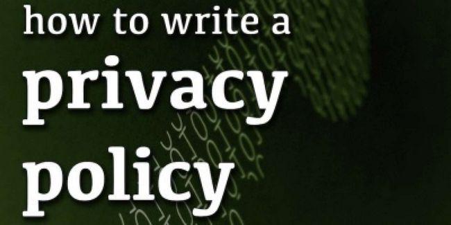 Como escrever uma política de privacidade para o seu site